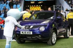 Nissan Juke - Man City competition