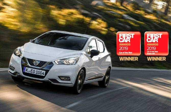 Nissan Micra crowned 'New Car of the Year' for second year running at 2019 FIRSTCAR Awards