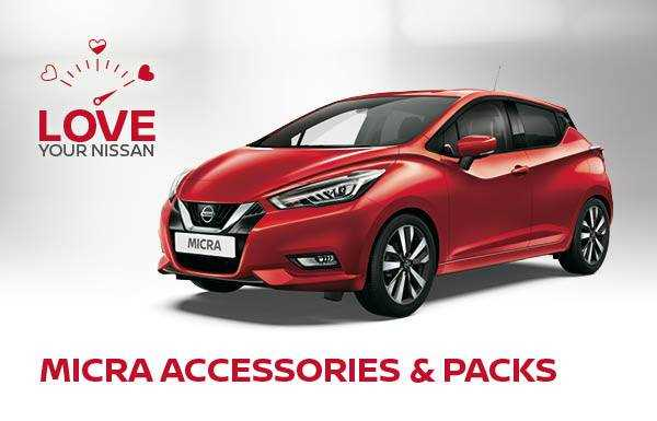 Micra Accessories and Packs