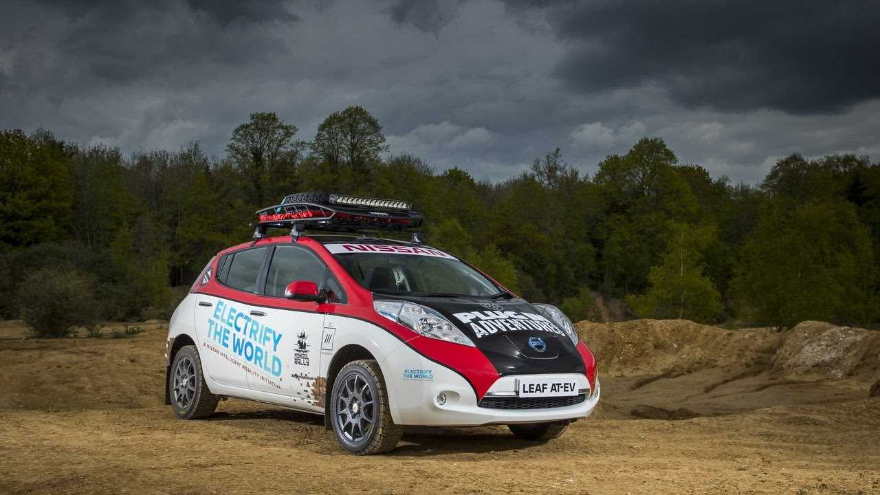 Nissan LEAF 10000 Mile Mongol Rally Entry
