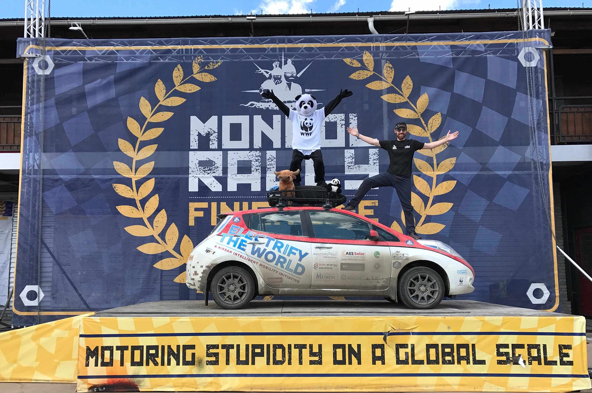 Plug-In Adventures Completes Mongol Rally