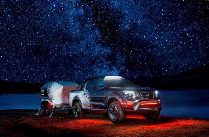 Nissan Reveals The Nissan Navara Dark Sky Concept
