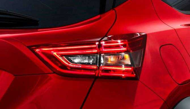 new nissan juke rear light clusters