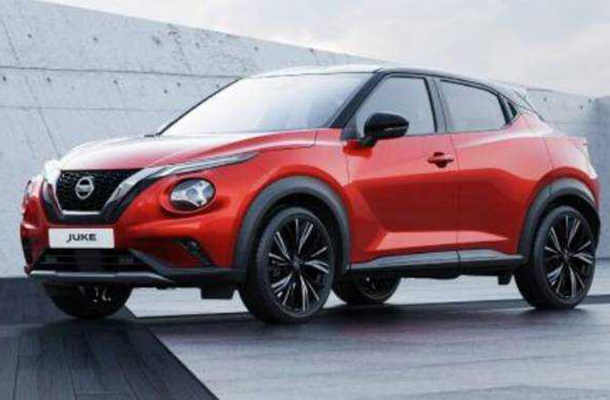 New Nissan Juke red