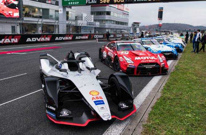 Nissan Celebrates Its Motorsports Past And Future