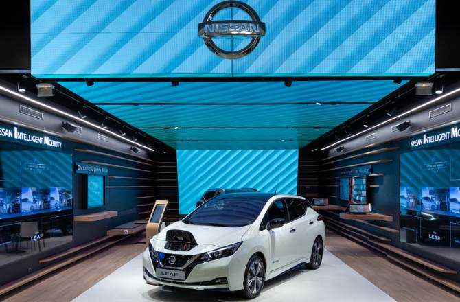 Nissan City Hub makes its worldwide debut in France