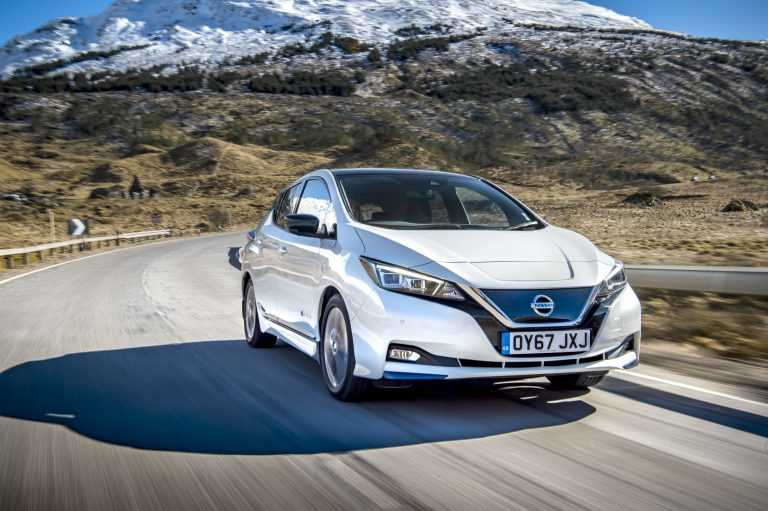 New Nissan LEAF Enjoys Another Award Win