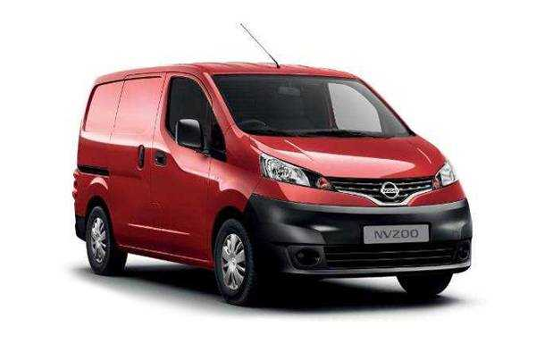 Nissan NV200 Red Business Center