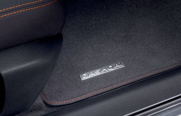 nissan qashqai n-motion detailed floor matts