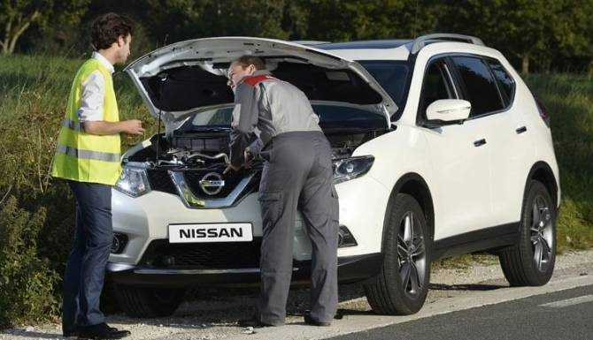 Nissan Roadside recovery at West Way