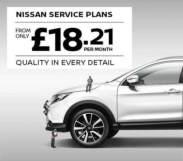 Nissan Service Plans from only £18.21 per month