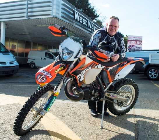 Southampton Aftersales Manager is a Motorcross Marvel