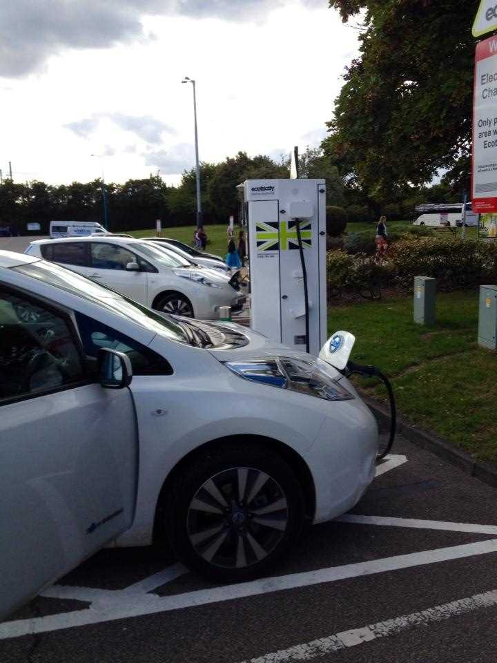 The 100% electric Nissan Leaf available at West Way Nissan
