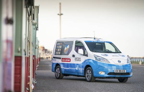 Nissan's electric ice cream van serves up a powerful performance with two wins at The Energy Awards 2019