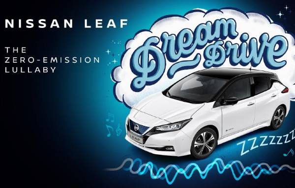 Nissan LEAF Dream Drive is the world's first zero-emission lullaby