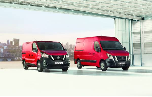 Nissan upgrades NV300 and NV400 vans with improvements to comfort, safety, style and emissions