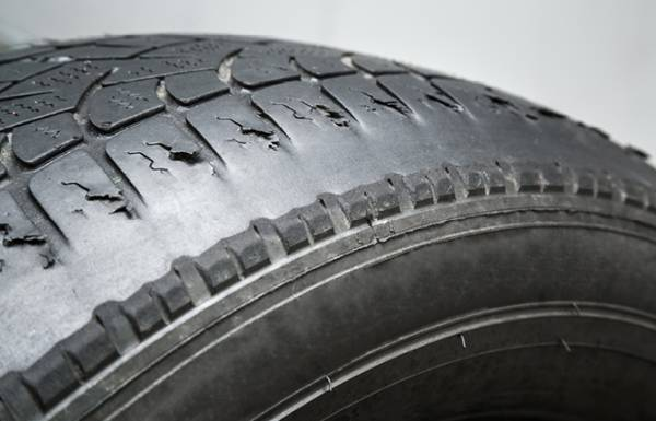 Dangers of part worn tyres.