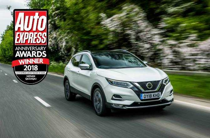 Nissan Qashqai named as Auto Express Car of the Past 30 Years