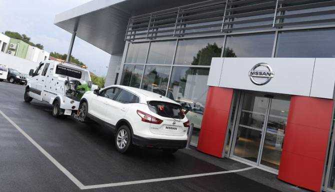 Recovery to your local West Way dealer