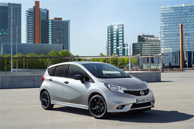 Nissan Note Black Edition, Elegant and more Dynamic Than Ever.