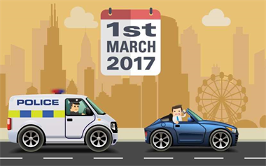 Mobile Phone Driving Law 2017