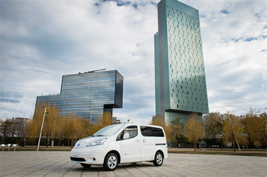 The e-NV200 Van - Taking you further than ever!