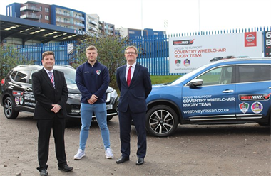 West Way is the New Mobility Partner for Coventry Wheelchair Rugby