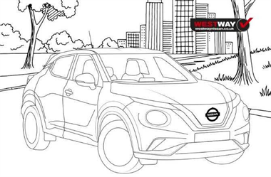 Download the West Way Nissan Colouring Sheets