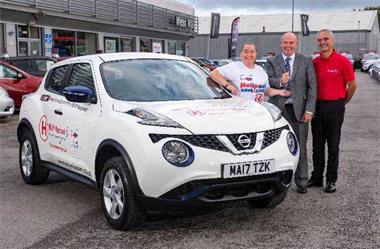 West Way Nissan Puts Charity In The Driving Seat