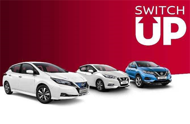 Switch Up is Back! Save Up To £6,300 When You Switch Up To a New Nissan!