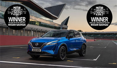 Double victory for the all-new Nissan Qashqai