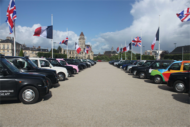 Taxi Charity For Military Veterans - Back To The Beaches