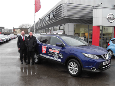 Manchester Evening News takes on the Next Generation Qashqai