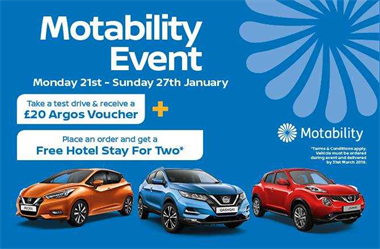 Join us for the Motability Event