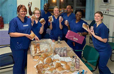 Helping to feed our NHS Heroes with The Barn Kitchen