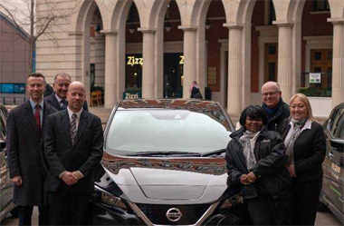 We Clean Ltd Commit to Sustainable Future with Nissan LEAF