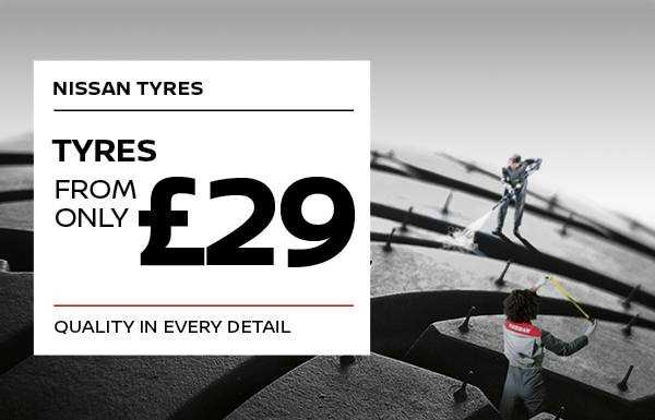 TYRES FROM £29