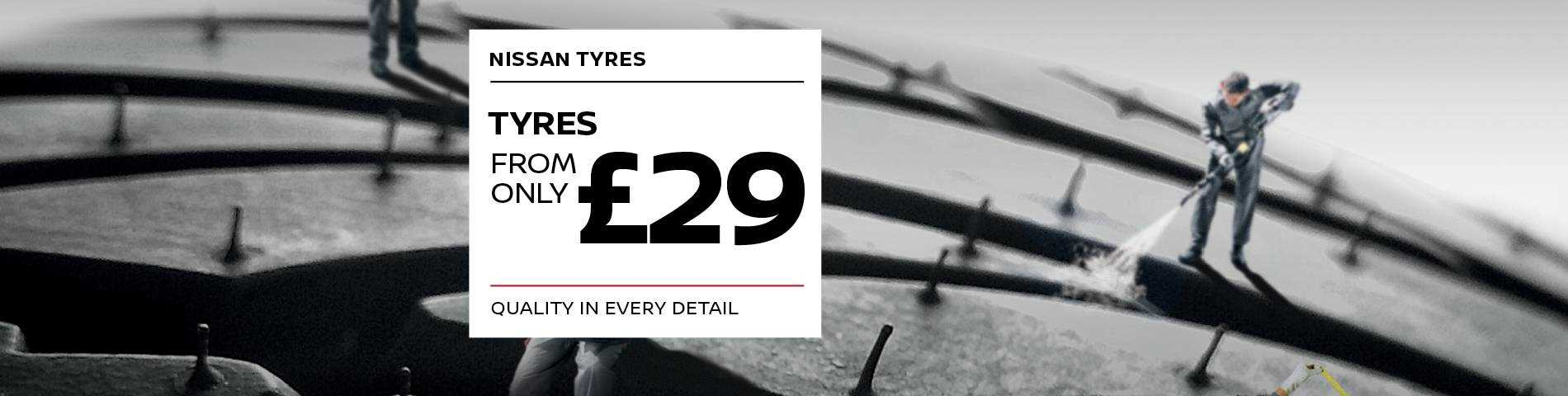 Tyres for £29 Banner