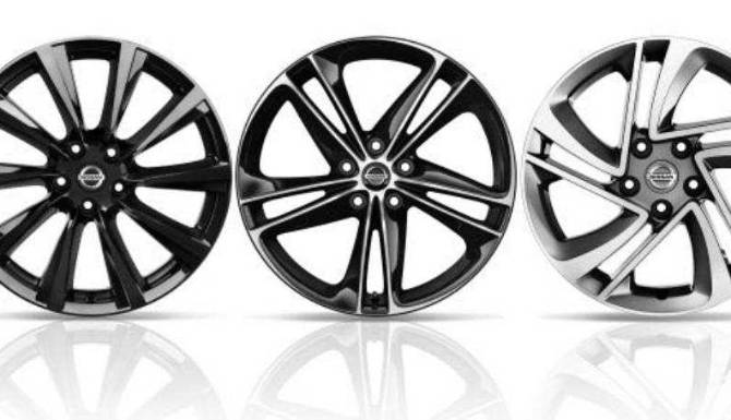 x-trail 2-tone alloy wheels
