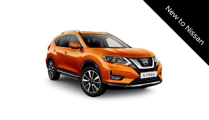X-Trail New to Nissan