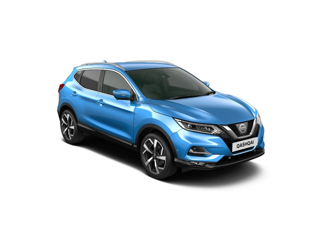 NISSAN QASHQAI 1.3 DiG-T N-Connecta 5dr [Glass Roof Pack]